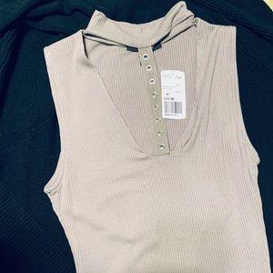 - light olive forever 21 bodysuit